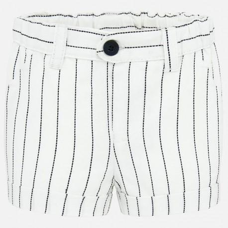 Bavlněné kraťasy pro chlapce Mayoral 1262-51 Bílý