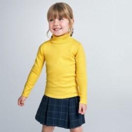 Dívčí pletený rolák Mayoral 313-10 Žlutá