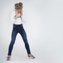 Základní džíny pro dívku Mayoral 578-66 granát