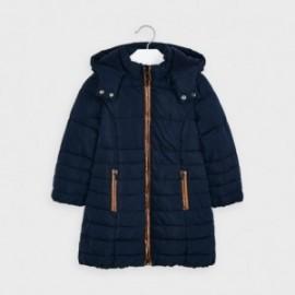 Zimní bunda pro dívky Mayoral 4415-46 granát