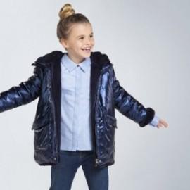 Oboustranná bunda pro dívku Mayoral 7412-52 námořnická modrá