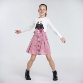 Corduroy sukně pro dívky Mayoral 7946-23 růžová