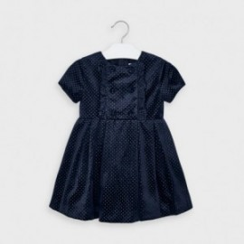 Sametové šaty pro dívky Mayoral 4972-93 granát