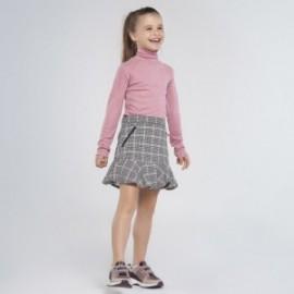 Kostkovaná sukně pro dívku Mayoral 7947-95 Černá