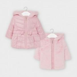 Oboustranná dívčí bunda Mayoral 2412-93 Růžový