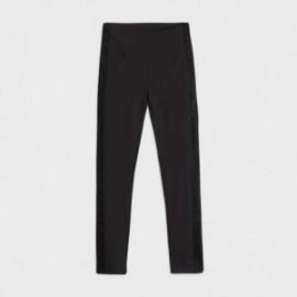 Dlouhé kalhoty pro dívky Mayoral 7537-53 Černá