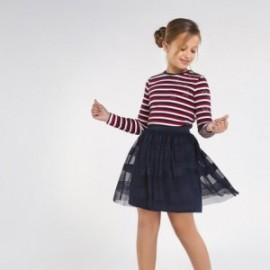 Dívčí tylová sukně Mayoral 7944-34 námořnická modrá