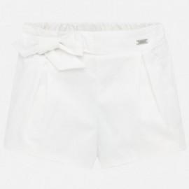 Dívčí krátké kalhoty Mayoral 1201-31 Bílý