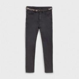 Chlapecké kalhoty s opaskem Mayoral 7524-37 černé