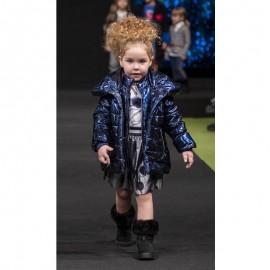 Dívčí zimní bunda Trybeyond 97489-70U námořnická modrá