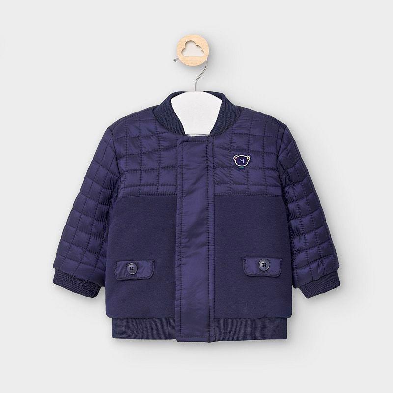 Chlapecká kombinovaná bunda Mayoral 2469-7 námořnická modrá