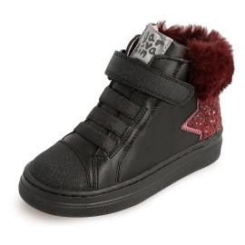 Dívčí zimní boty Garvalin 201635 černé