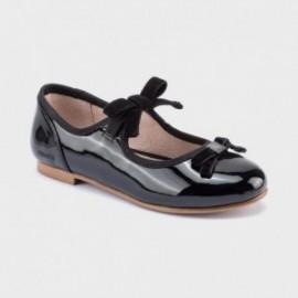 Elegantní dívčí baleríny Mayoral 46111-77 černé