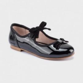 Elegantní dívčí baleríny Mayoral 44111-77 černé