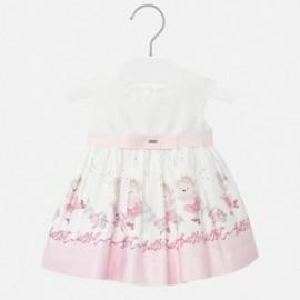 Šaty s potiskem holčičí Mayoral 1926-69 růžová
