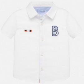 Chlapecké tričko s krátkým rukávem Mayoral 1160-86 Bílý