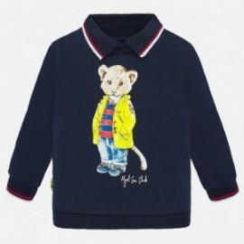 Mikina s límcem chlapecký Mayoral 1451-77 námořnická modrá