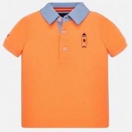 Chlapecké polokošile Mayoral 1152-90 Oranžový neon