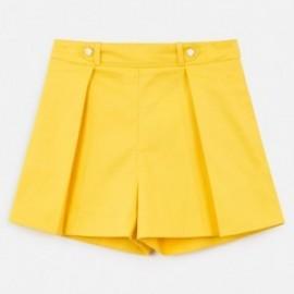 Šortky pro dívky Mayoral 6250-88 Žluté