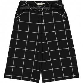 Dívčí kalhoty culotte Trybeyond 92483-90Z černé