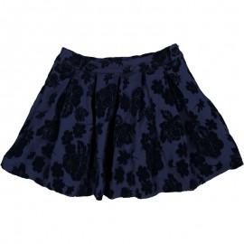 Květinová sukně holčičí Trybeyond 95297-97Z námořnická modrá
