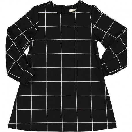 Dívčí kostkované šaty Trybeyond 95588-90Z Černá