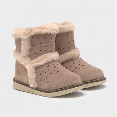 Dívčí zimní boty Mayoral 42132-41 Růžový
