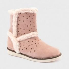 Izolované boty holčičí Mayoral 44, 149-69 Růžový