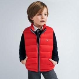 Chlapecká vesta Mayoral 4334-54 červená barva