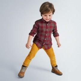 Chlapecké manšestrové kalhoty Mayoral 537-19 žluté barvy