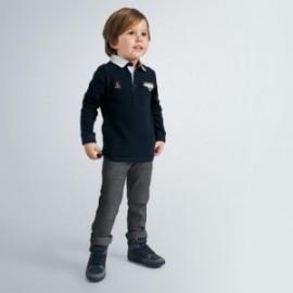 Elegantní chlapecké kalhoty Mayoral 4538-93 námořnická modrá barva
