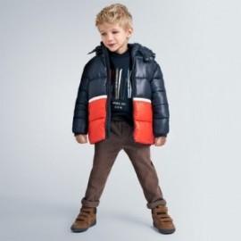 Elegantní chlapecké kalhoty Mayoral 4526-89 hnědá barva