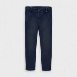 Chlapci džínové kalhoty Mayoral 4530-5 tmavě modrá