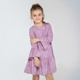 Šaty pro dívky Mayoral 7958-37 fialové barvy