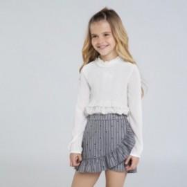 Sukně kalhoty dívky Mayoral 7951-89 šedá barva