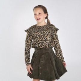 Manšestrová sukně dívčí Mayoral 7946-22 zelená