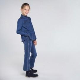 Dívčí džíny Mayoral 7539-75 modré barvy