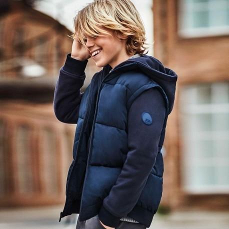 Chlapecká přechodová bunda Mayoral 7465-24 námořnická modrá barva