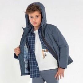 Chlapecká zimní bunda Mayoral 7468-93 modrá barva