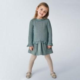 Šaty pro dívky Mayoral 4970-91 zelené barvy