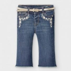 Dívčí džíny Mayoral 2590-80 modré barvy