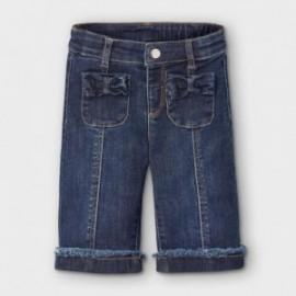 Dívčí džíny Mayoral 2592-5 námořnická modrá barva