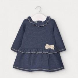 Dívčí šaty Mayoral 2961-49 námořnická modrá barva