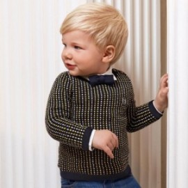 Chlapecký svetr Mayoral 2343-57 tmavě modrá barva