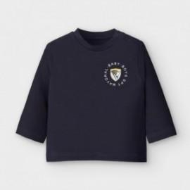 Chlapecké tričko s dlouhým rukávem Mayoral 2036-34 námořnická modrá