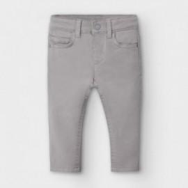 Chlapecké kalhoty Mayoral 563-80 šedá barva