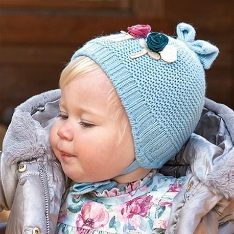 Sada zimní dívky Mayoral 10842-94 tyrkysový