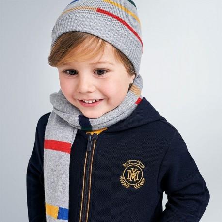 Zimní sada pro chlapce Mayoral 10894-54 šedá