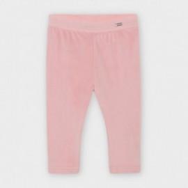 Sametové legíny pro dívku Mayoral 727-32 Růžový