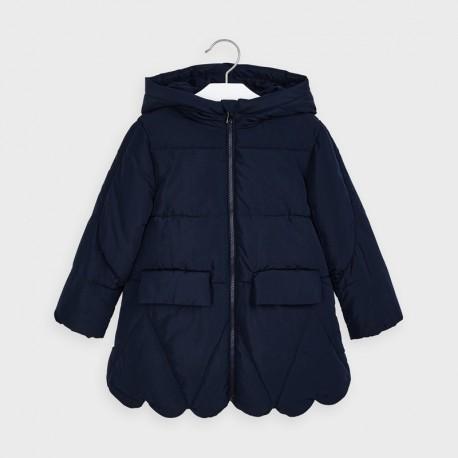 Dívčí prošívaná bunda Mayoral 4416-93 Tmavě modrá